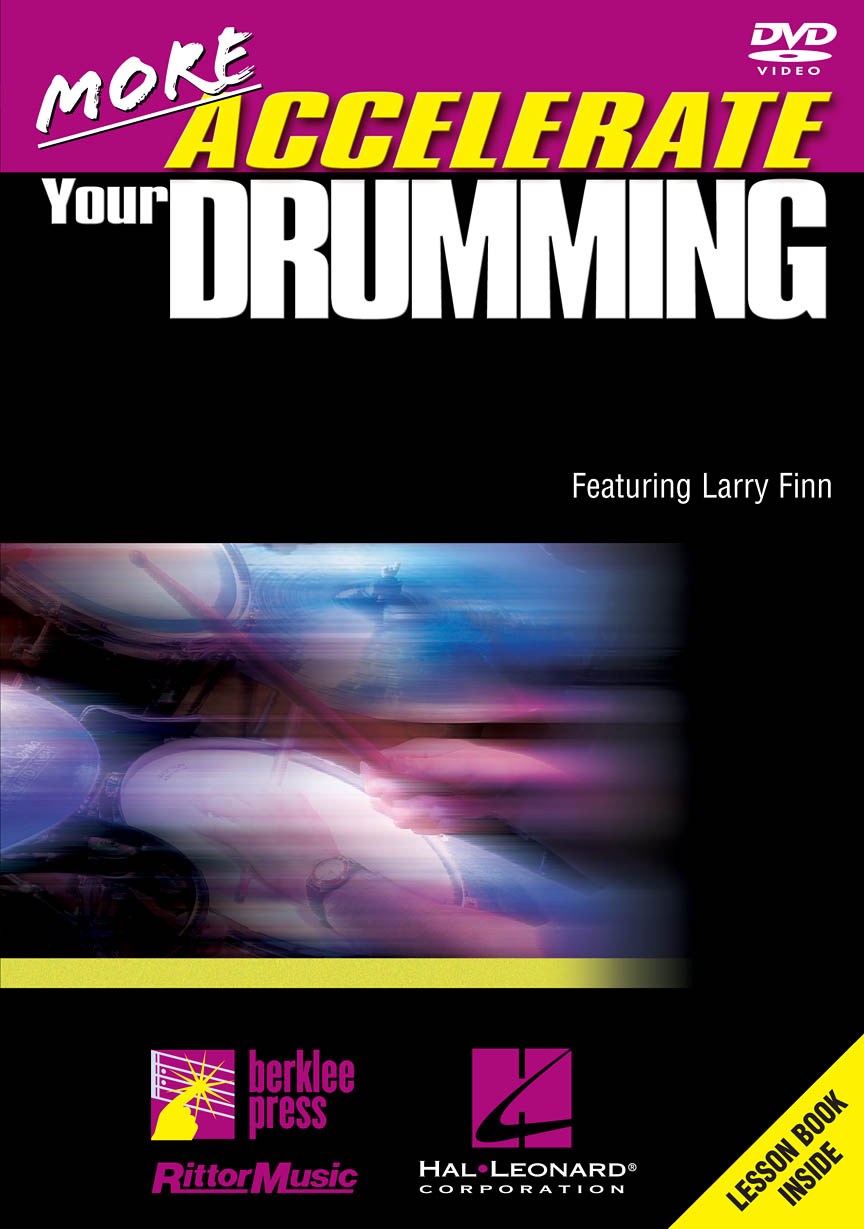 Product Cover for More Accelerate Your Drumming