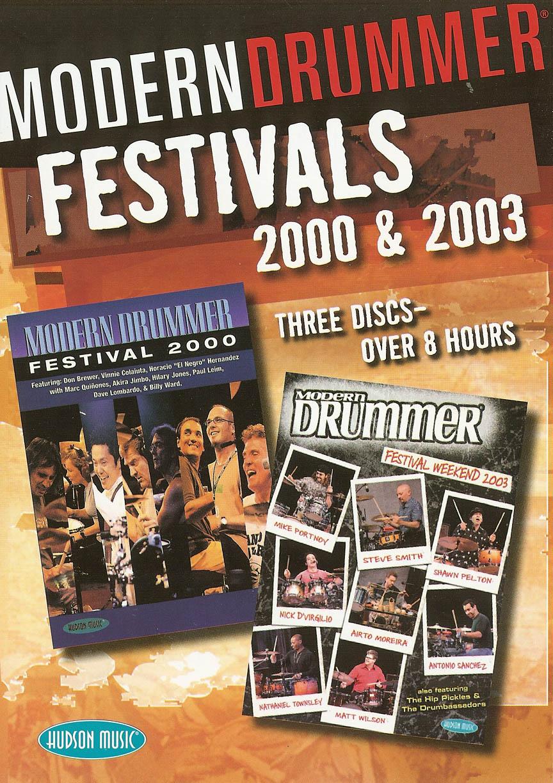 Product Cover for Modern Drummer Festivals 2000 & 2003