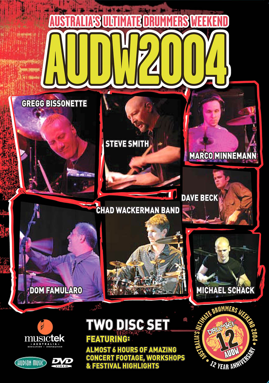 Product Cover for Australia's Ultimate Drummers Weekend – AUDW2004