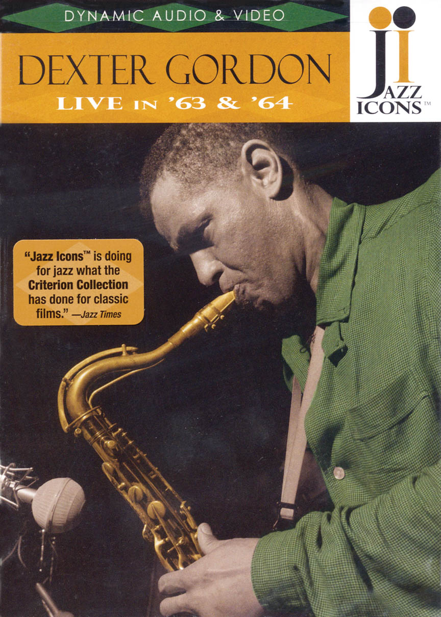 Product Cover for Dexter Gordon – Live in '63 and '64