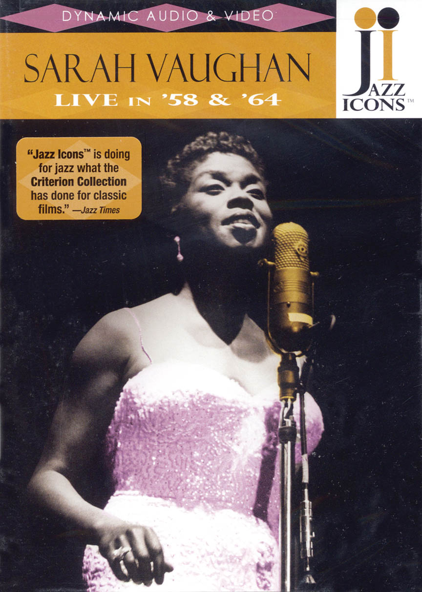 Product Cover for Sarah Vaughan – Live in '58 and '64