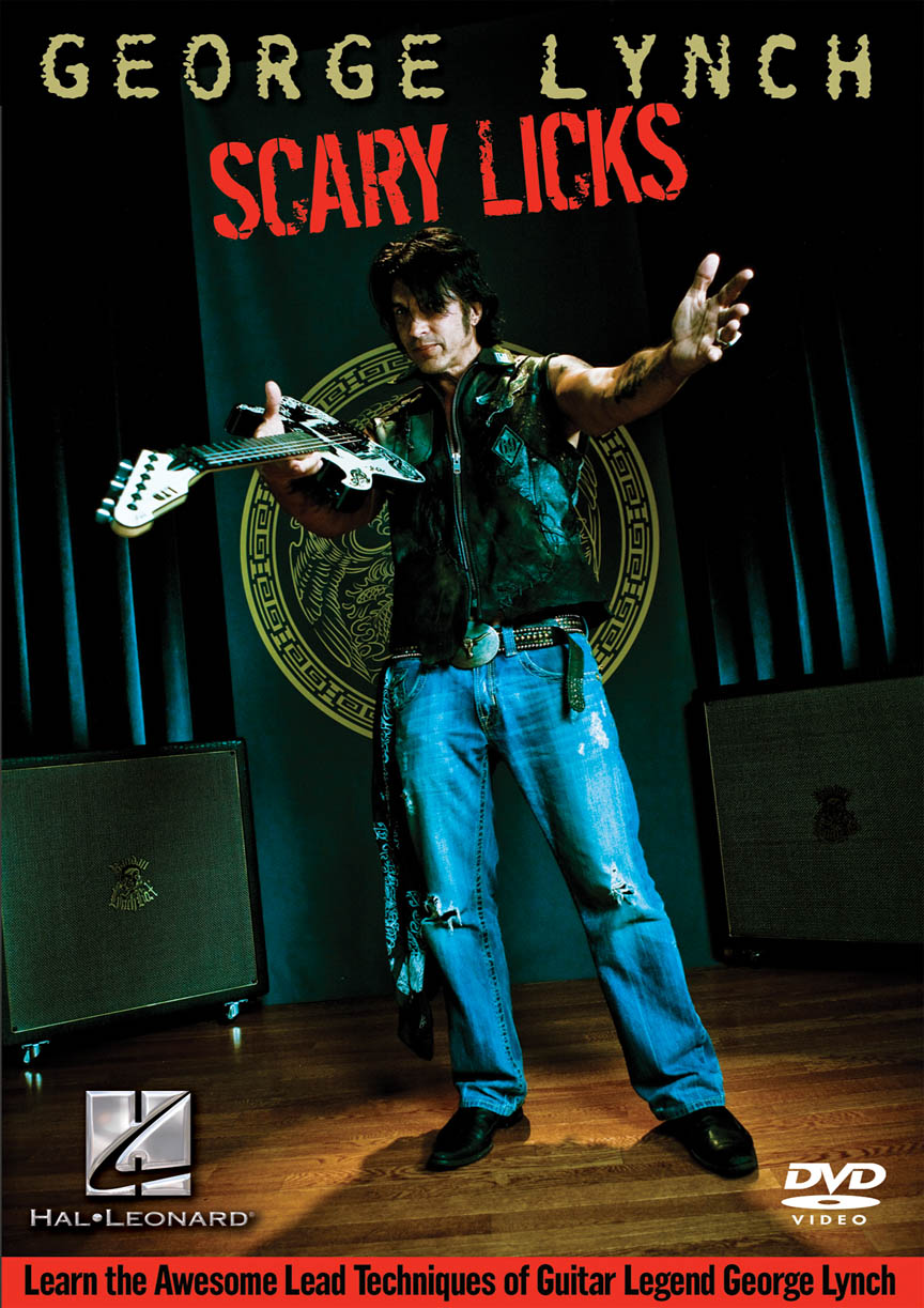 Product Cover for George Lynch – Scary Licks