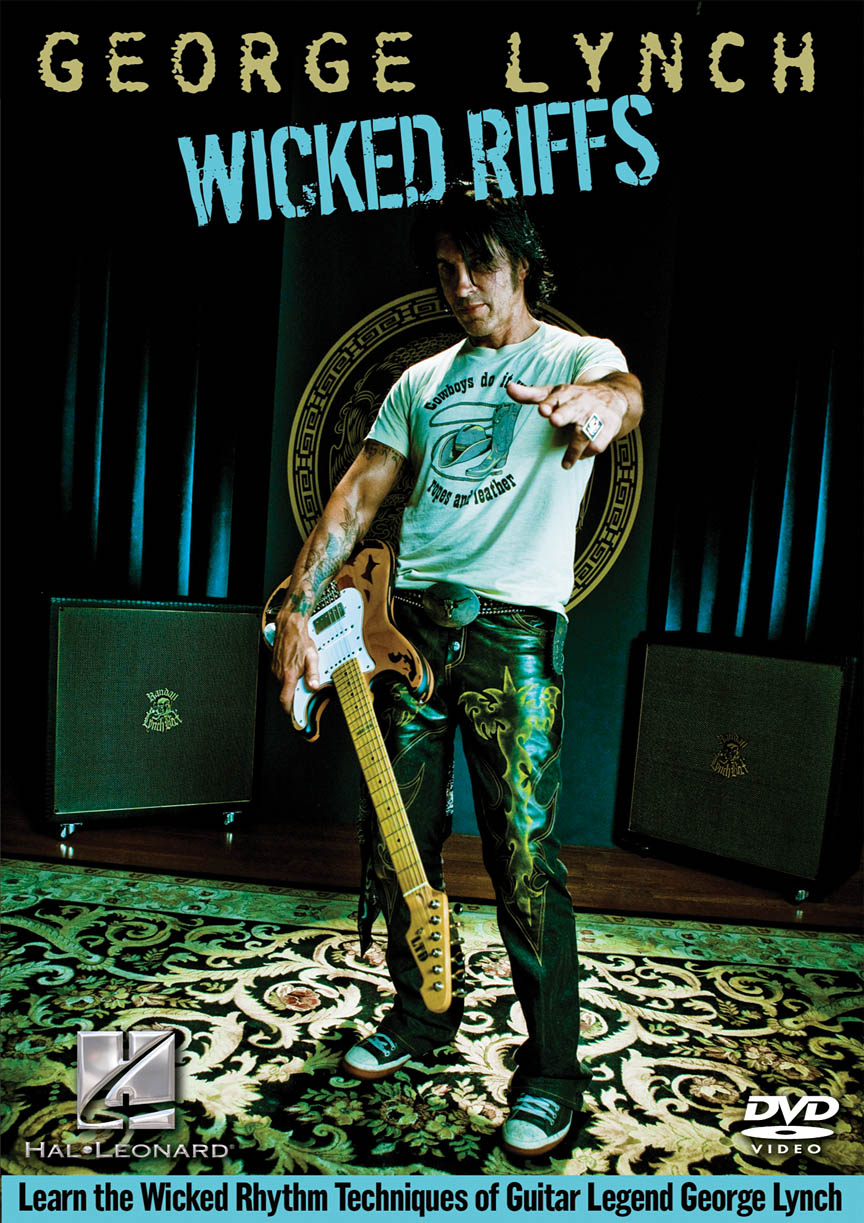 Product Cover for George Lynch – Wicked Riffs