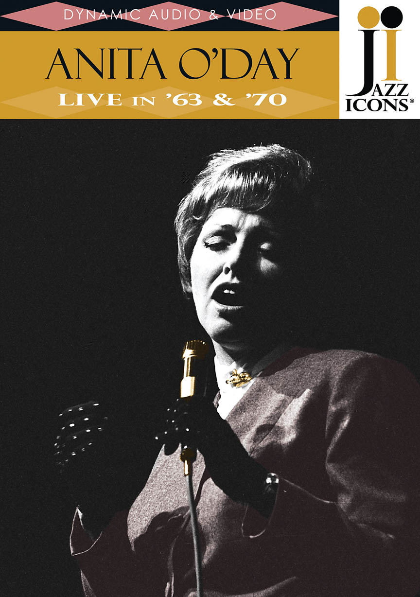 Product Cover for Anita O'Day – Live in '63 & '70