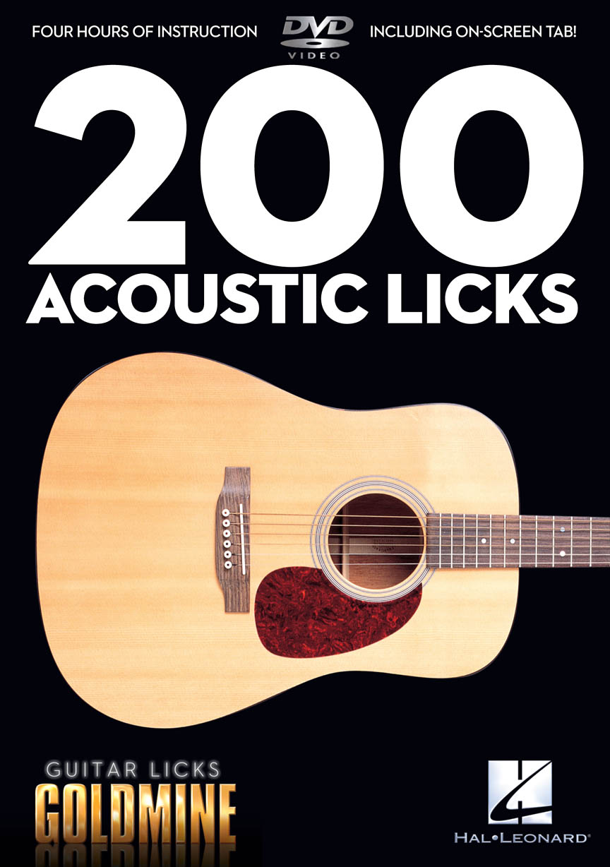 Product Cover for 200 Acoustic Licks