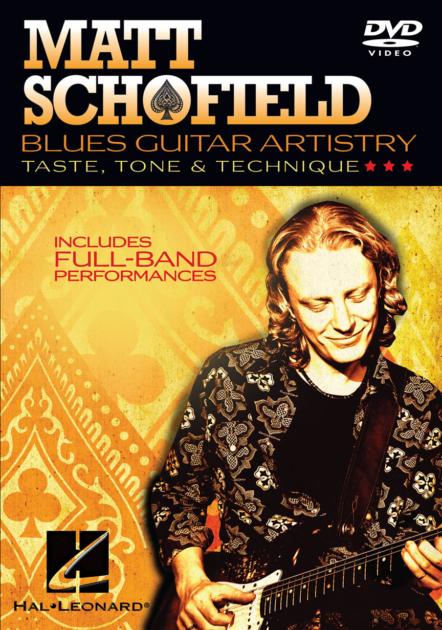 Product Cover for Matt Schofield – Blues Guitar Artistry