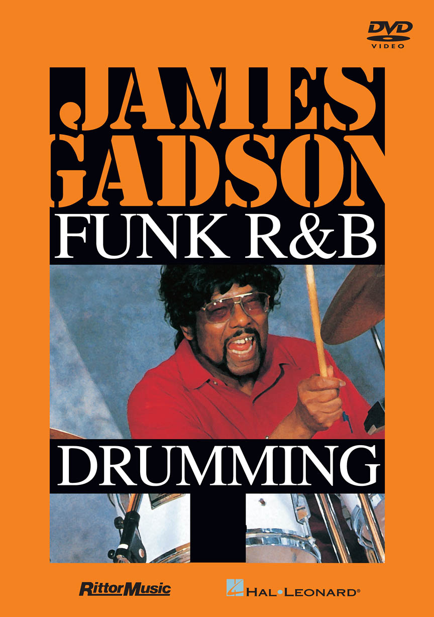 Product Cover for James Gadson – Funk/R&B Drumming