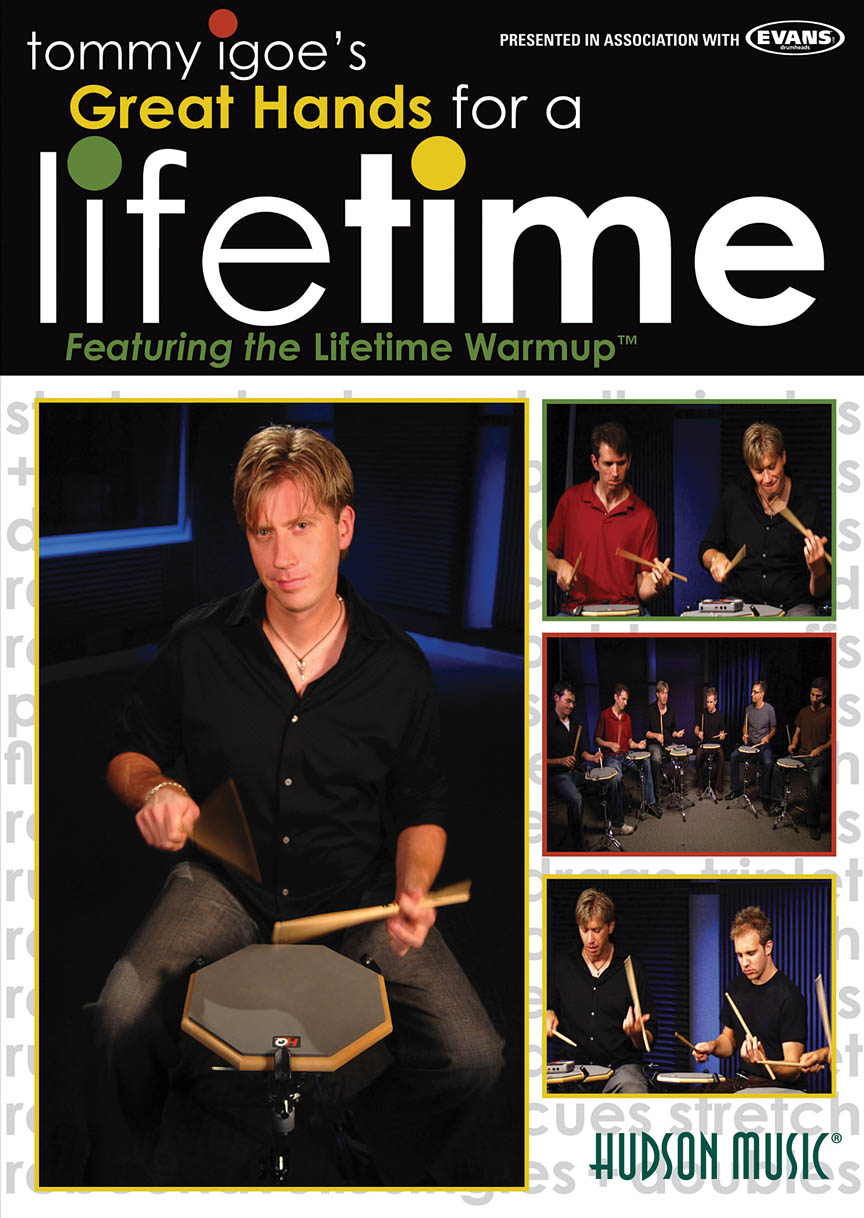 Product Cover for Tommy Igoe – Great Hands for a Lifetime
