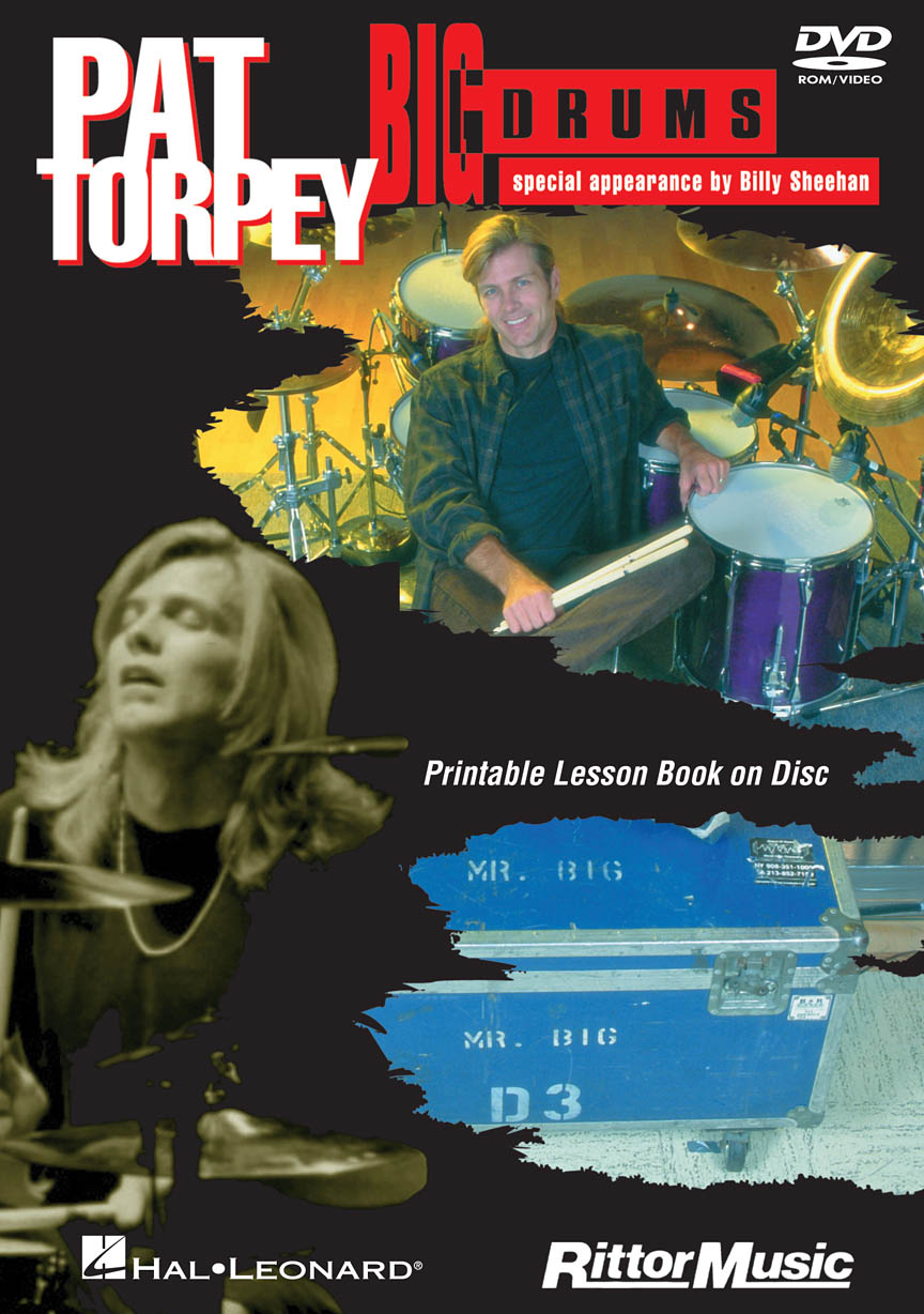 Pat Torpey – Big Drums