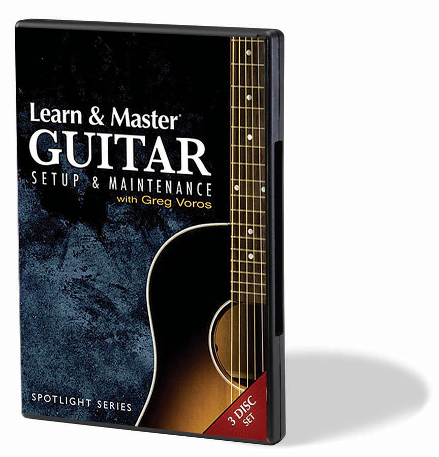 Product Cover for Learn & Master Guitar Setup and Maintenance