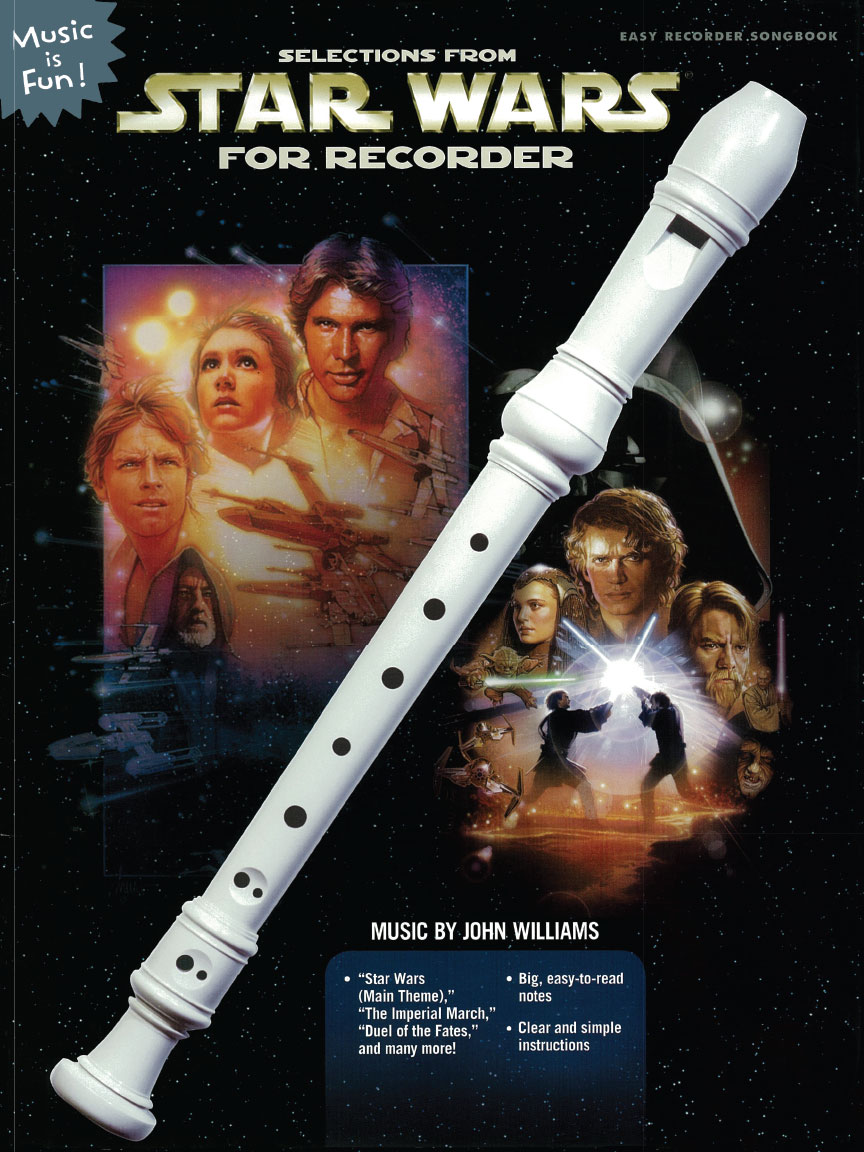Product Cover for Selections from Star Wars for Recorder