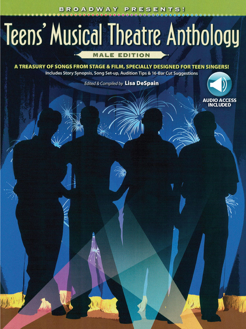 Product Cover for Broadway Presents! Teens' Musical Theatre Anthology: Male Edition