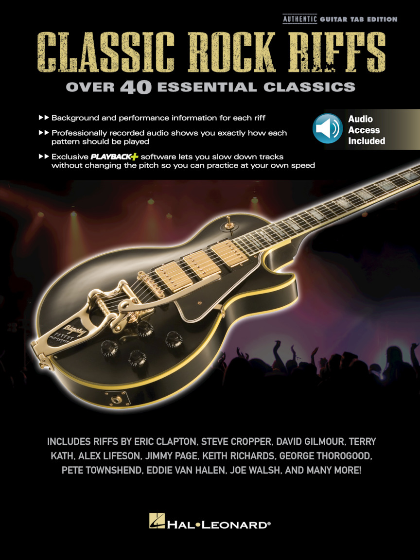 Product Cover for Classic Rock Riffs