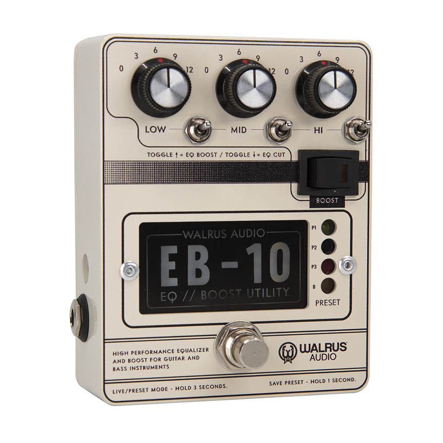 EB-10 Preamp/EQ/Boost