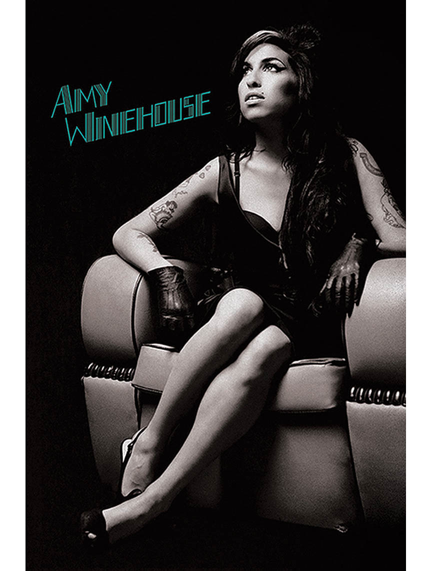 Product Cover for Amy Winehouse: Chair – Wall Poster