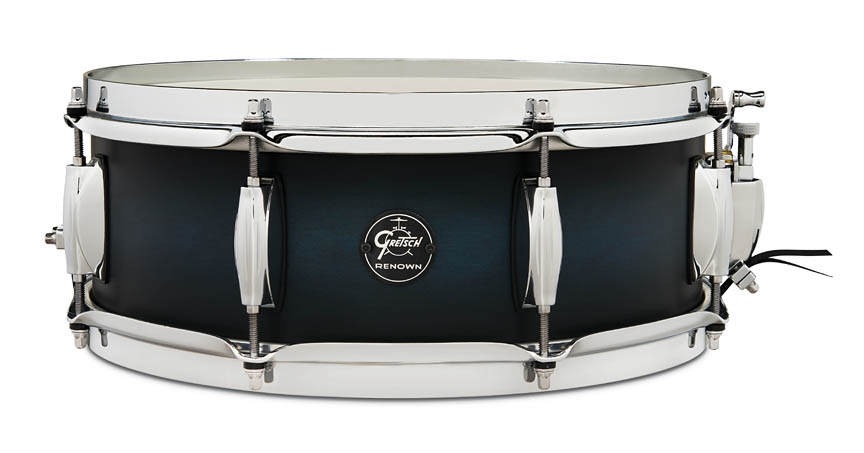 Product Cover for Renown Snare Drum – Satin Antique Blue Burst Finish