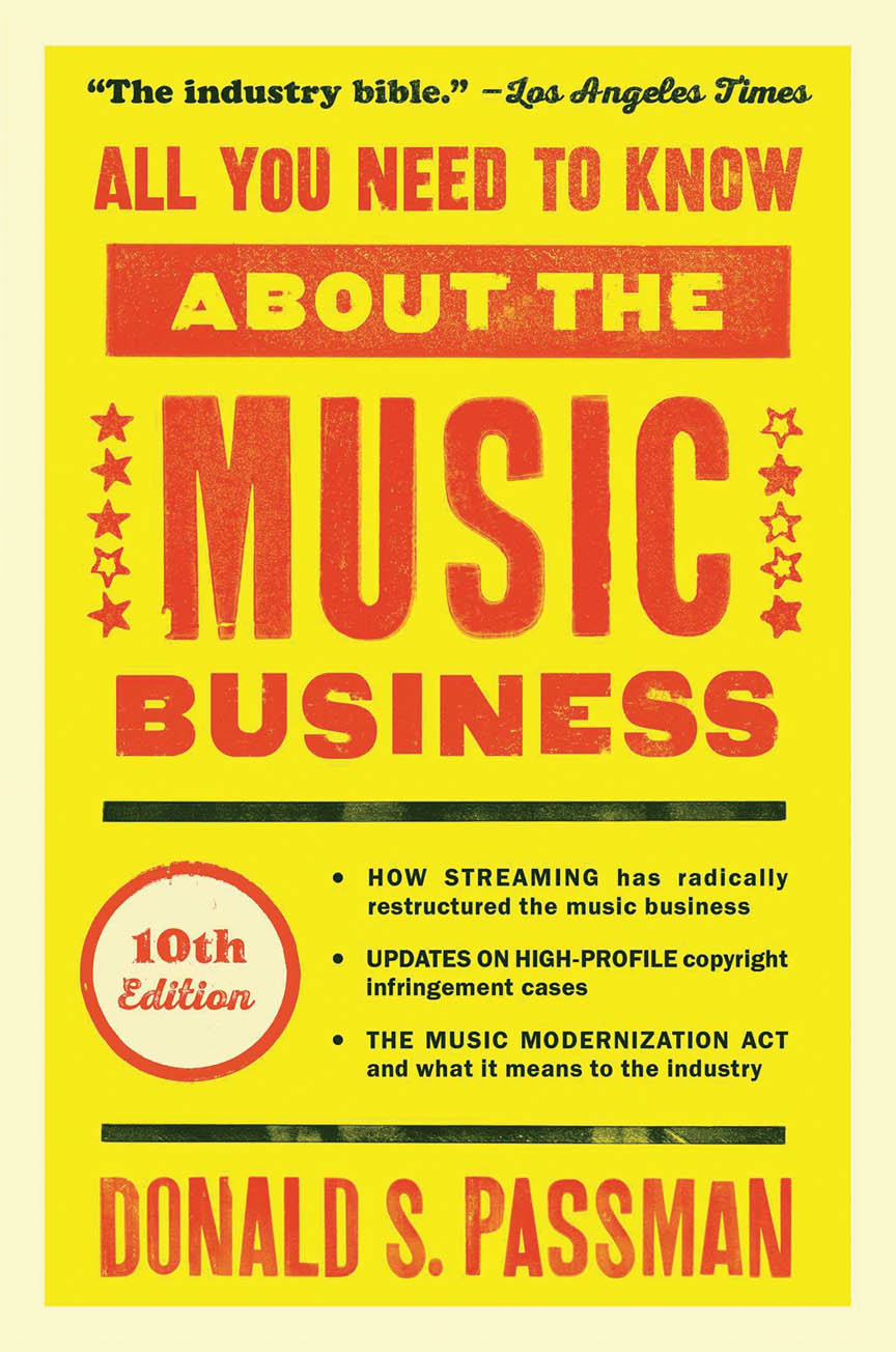Product Cover for All You Need to Know About the Music Business