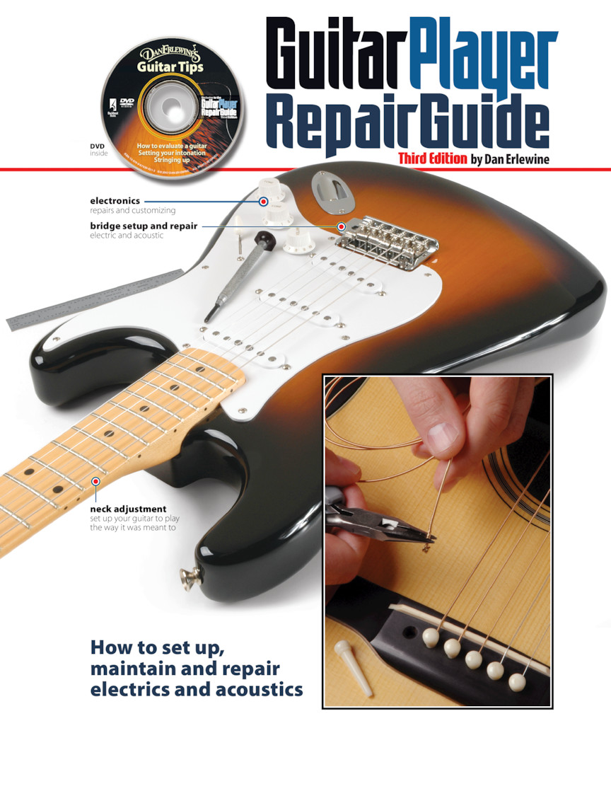 Product Cover for The Guitar Player Repair Guide – 3rd Revised Edition