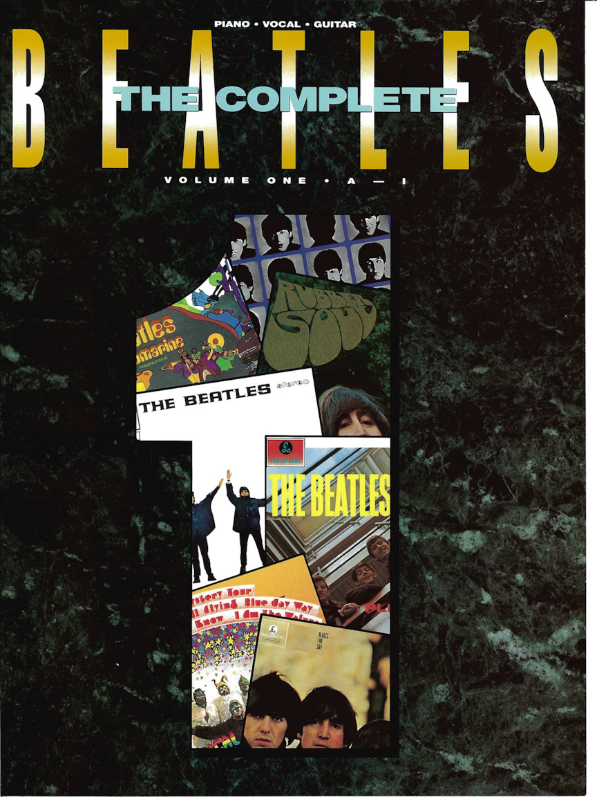 Product Cover for The Beatles Complete – Volume 1