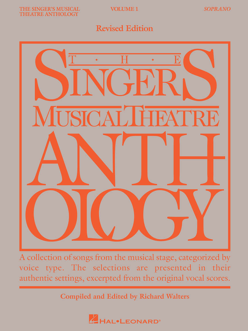 Product Cover for The Singer's Musical Theatre Anthology Volume 1