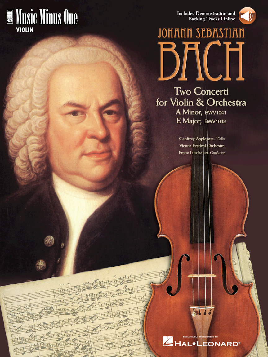 Product Cover for J.S. Bach – Violin Concerto No. 1 in A Minor, BWV1041; Violin Concerto No. 2 in E Major, BWV1042