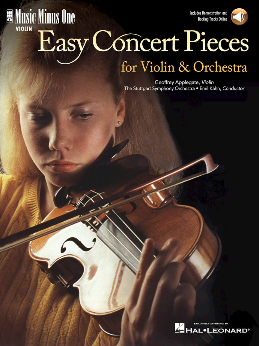 Product Cover for Easy Concert Pieces for Violin & Orchestra