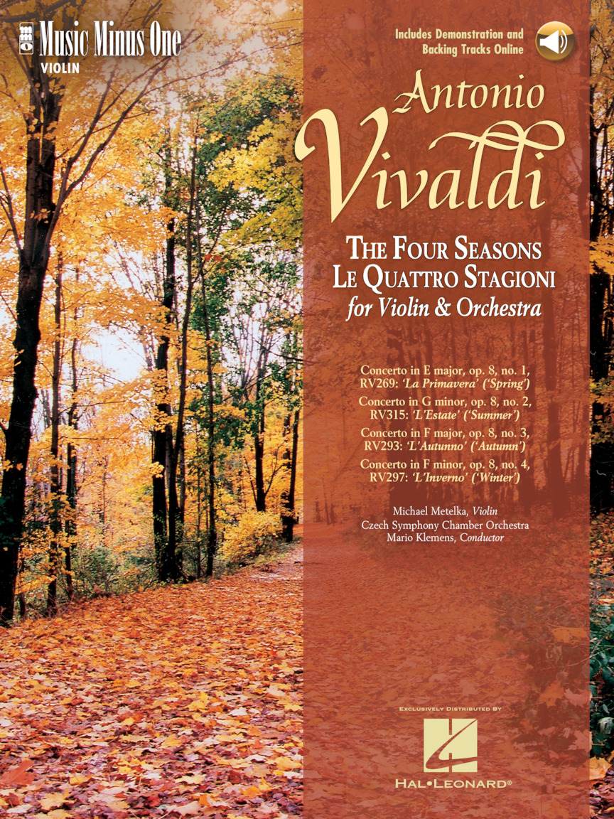 "Product Cover for Vivaldi – ""Le Quattre Stagioni"" (""The Four Seasons"") for Violin and Orchestra"