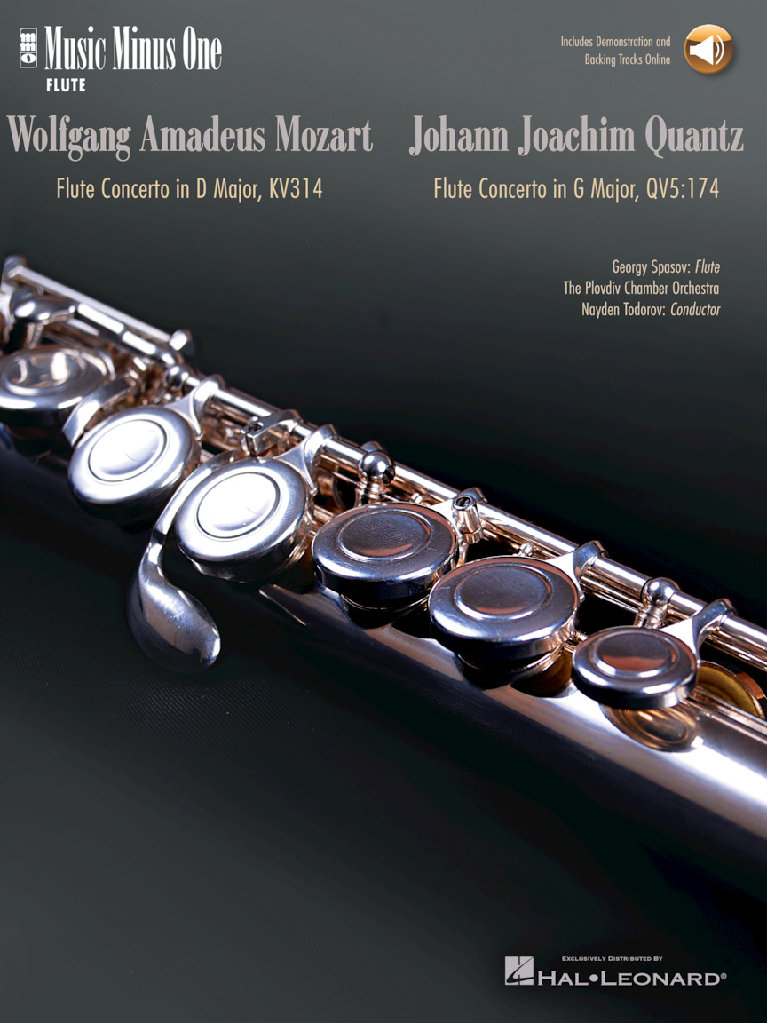 Mozart – Flute Concerto No. 2 in D Major, K. 314; Quantz – Flute Concerto in G Major