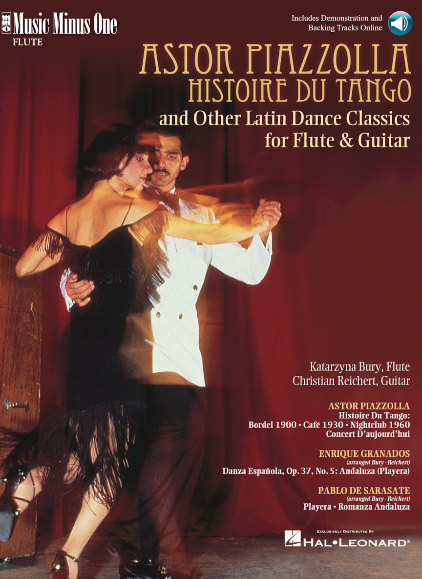 Product Cover for Piazzolla: Histoire Du Tango and Other Latin Classics for Flute & Guitar Duet