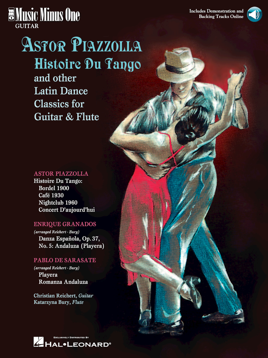 Product Cover for Astor Piazzolla – Histoire Du Tango and Other Latin Classics for Guitar & Flute