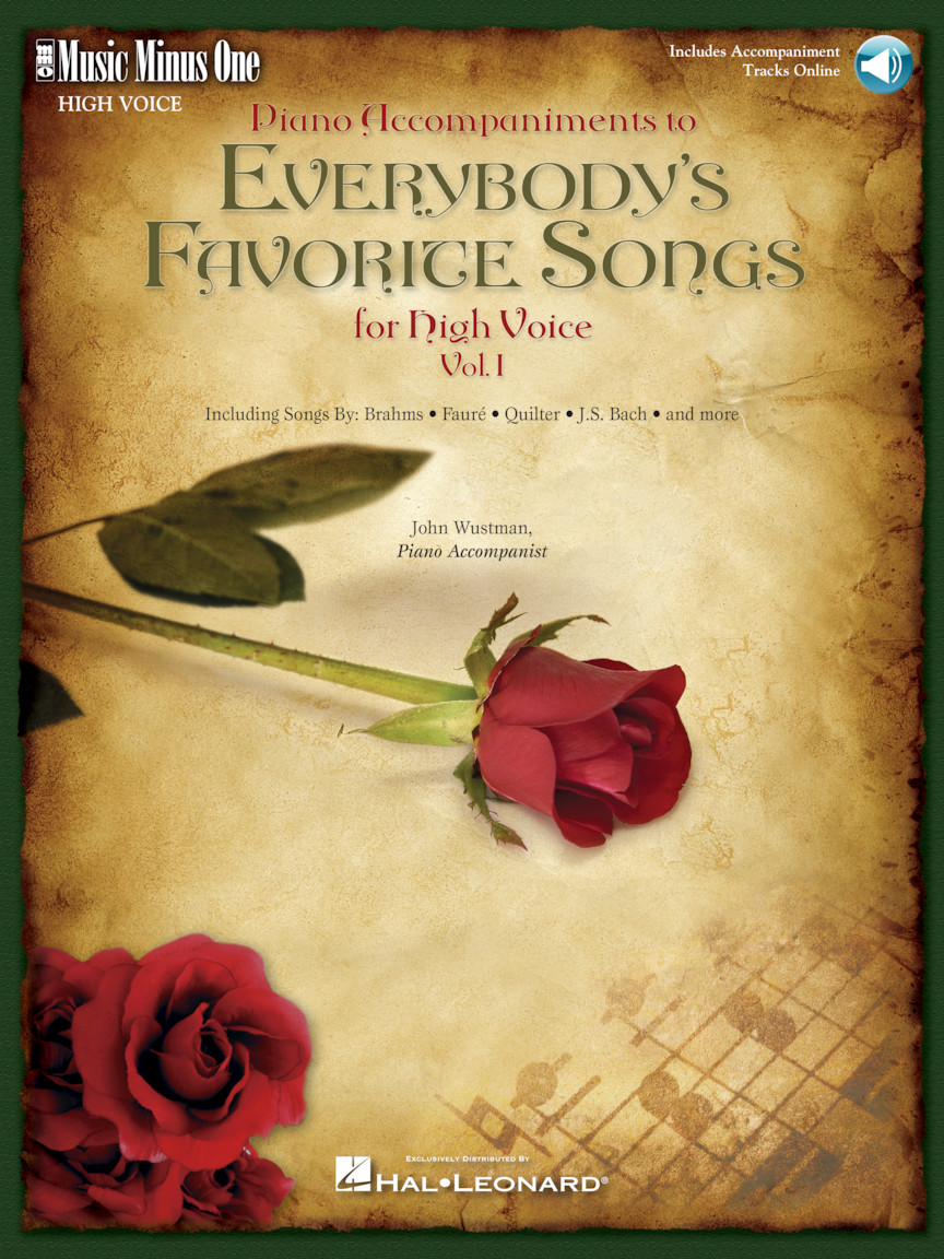 Product Cover for Everybody's Favorite Songs – High Voice, Vol. I