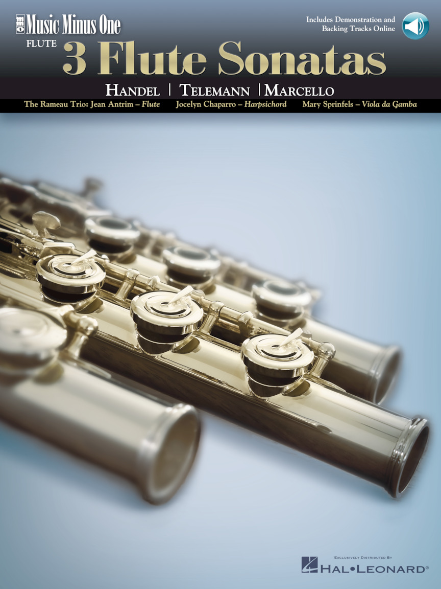 Product Cover for 3 Flute Sonatas – Handel, Telemann, Marcello