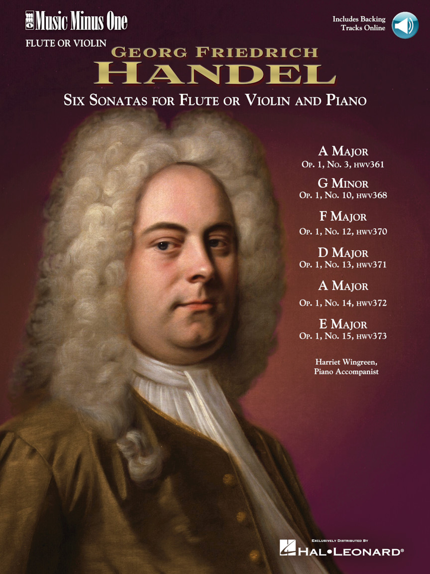 Handel – Six Sonatas for Flute and Piano