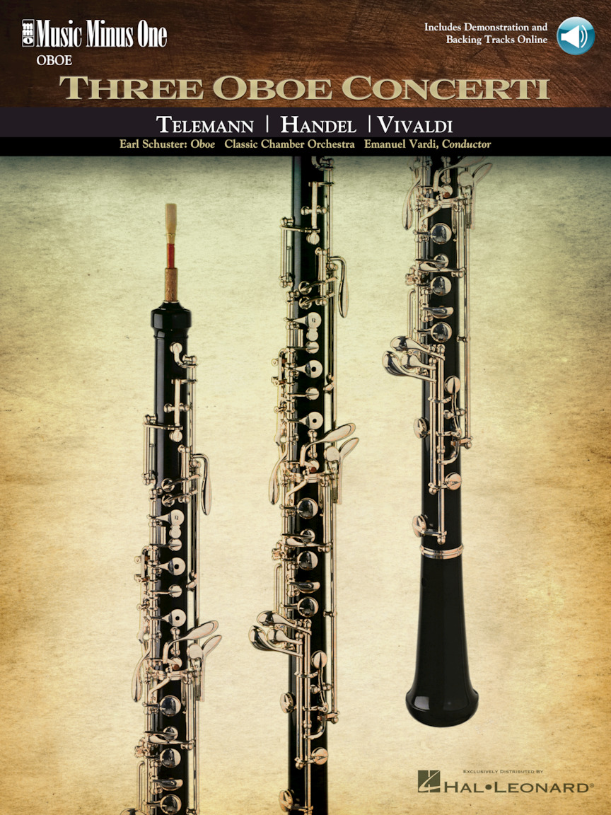 Product Cover for Three Oboe Concerti
