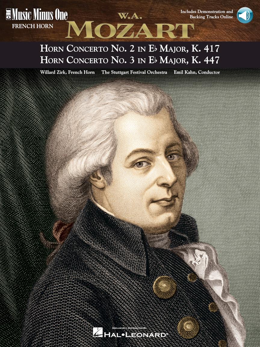 Mozart – Horn Concerto No. 2, KV417; Horn Concerto No. 3, KV447