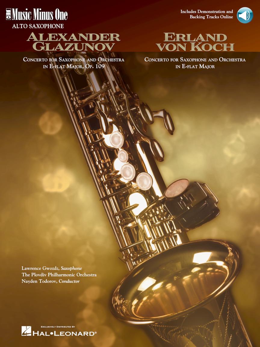 Glazunov – Concerto in E-flat Major, Op. 109; Von Koch – Concerto in E-flat Major