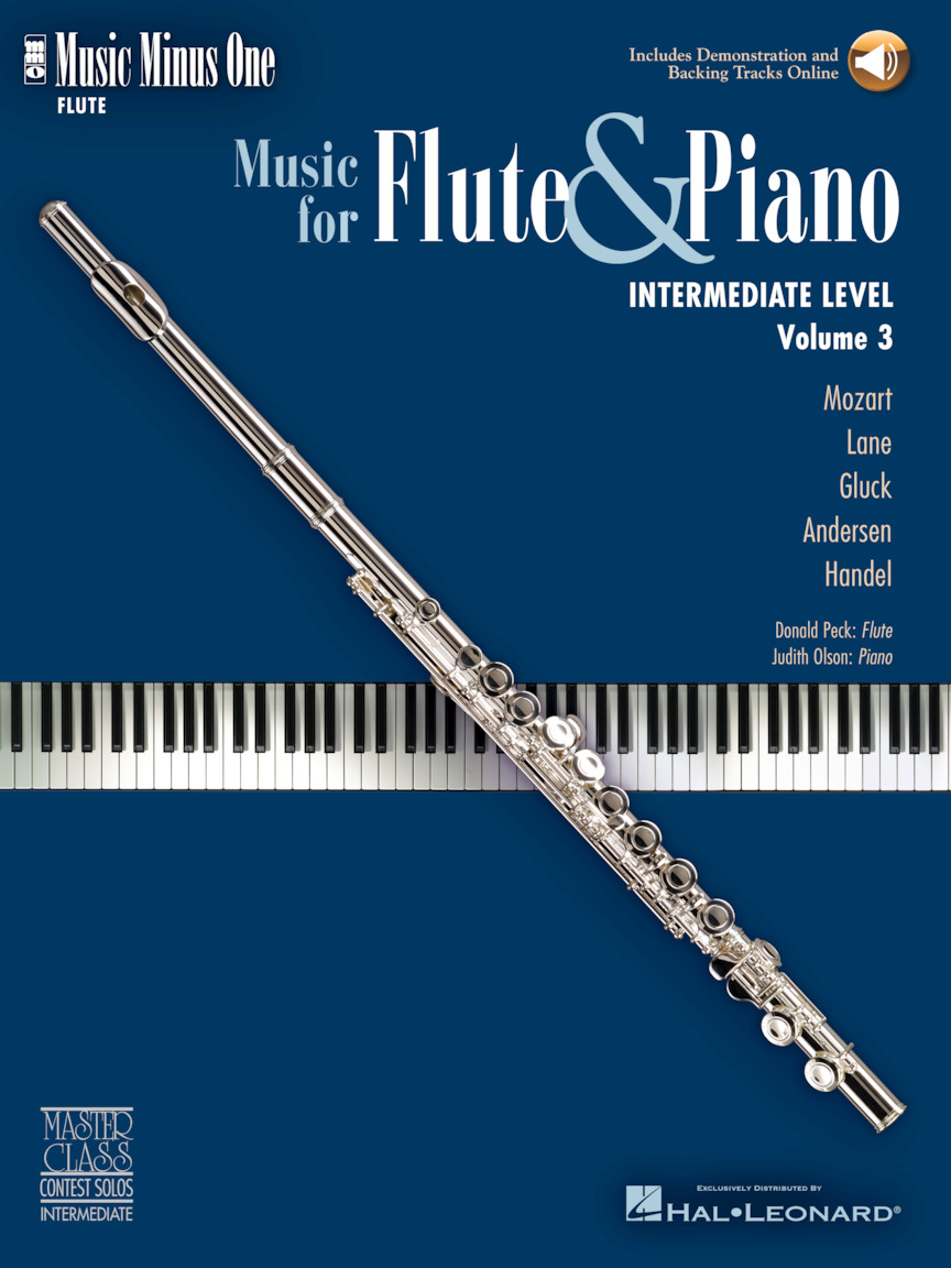 Product Cover for Intermediate Flute Solos – Volume 3