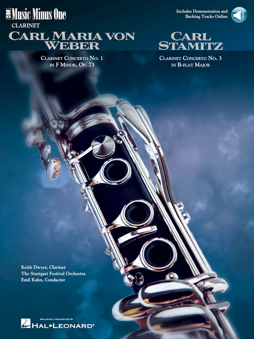 Product Cover for Weber: Concerto No. 1 in F Minor Op. 73 & Stamitz: Concerto No. 3 in B Flat for Clarinet