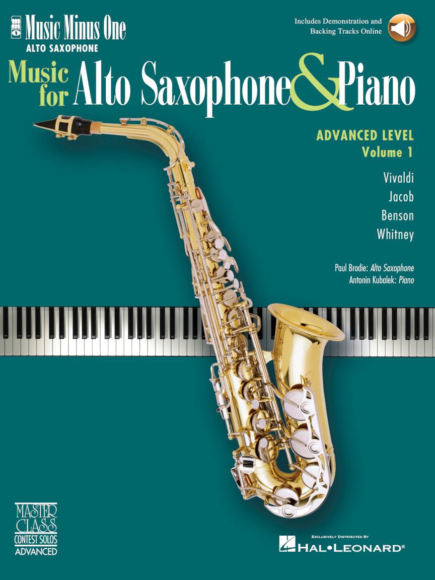Product Cover for Advanced Alto Sax Solos – Volume 1