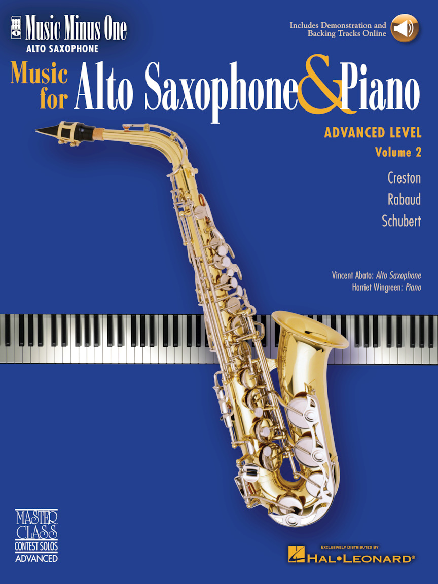 Advanced Alto Sax Solos – Volume 2