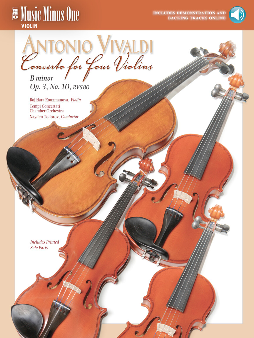 Product Cover for Vivaldi – Concerto for Four Violins in B minor, Op. 3, No. 10, RV580