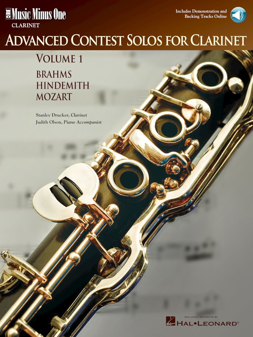 Advanced Contest Solos for Clarinet – Volume I