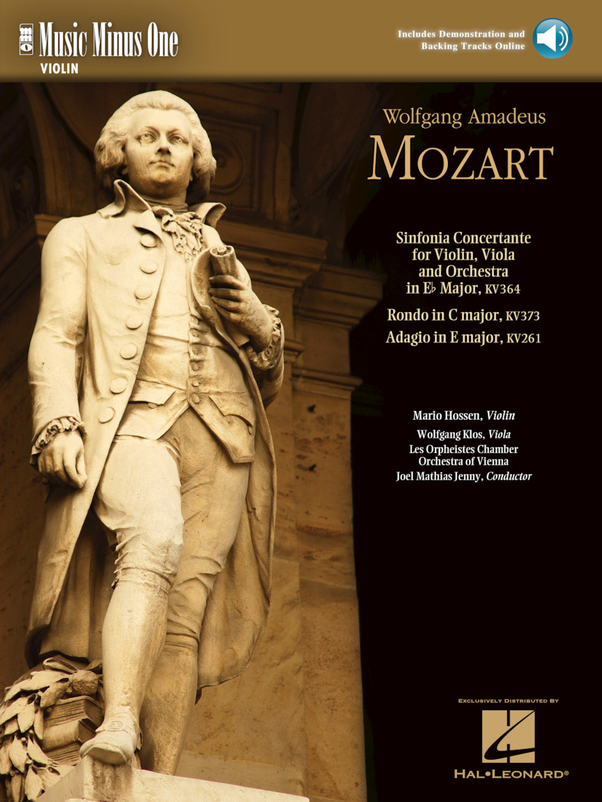 Product Cover for Mozart – Sinfonia Concertante in E-flat, KV364; Adagio in E; Rondo in C