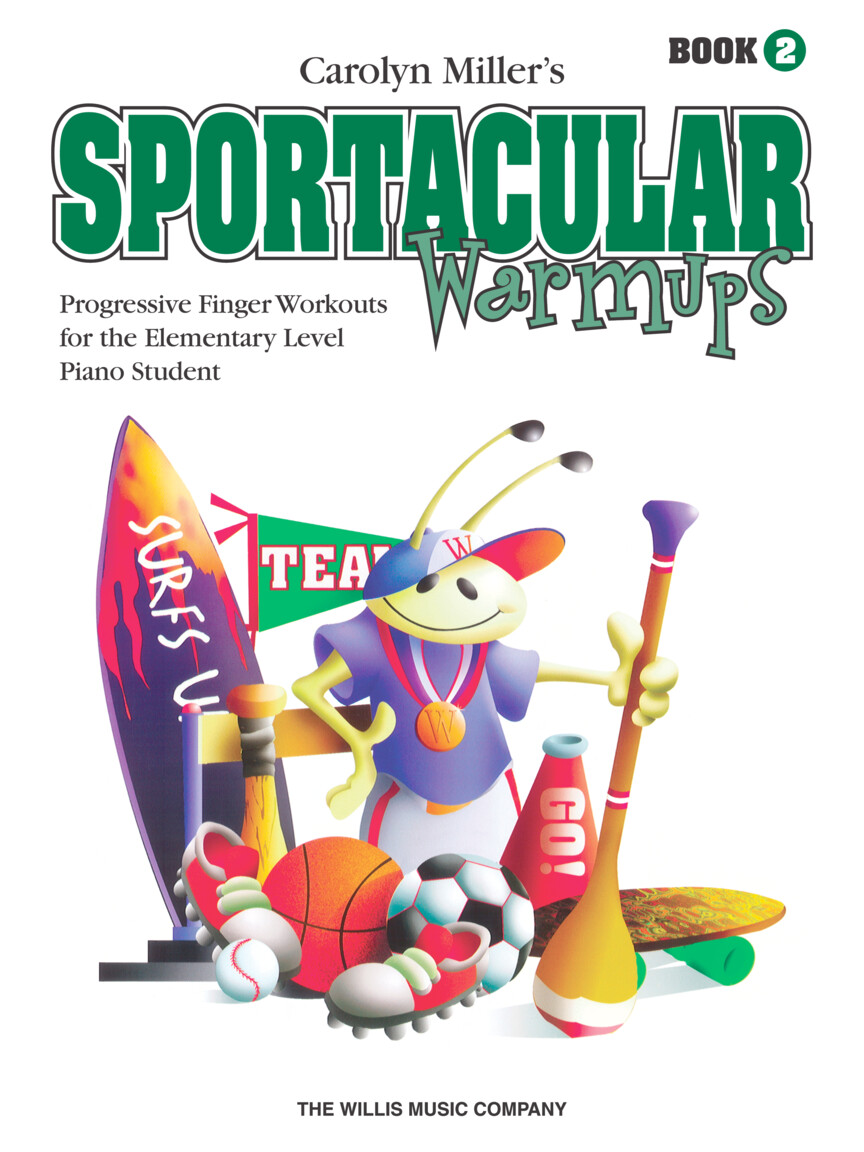 Product Cover for Sportacular Warm-Ups, Book 2