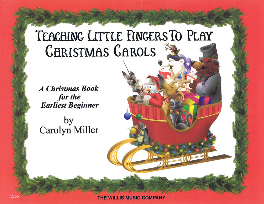 Product Cover for Teaching Little Fingers to Play Christmas Carols