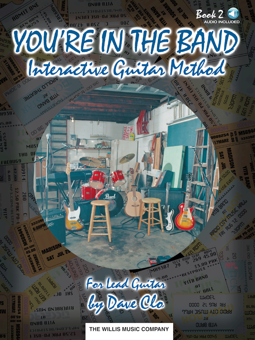 Product Cover for You're in the Band, Bk 2 – Interactive Guitar Method