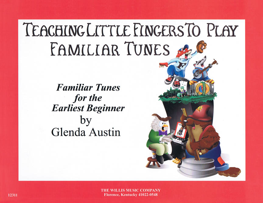 Product Cover for Teaching Little Fingers to Play Familiar Tunes – Book only