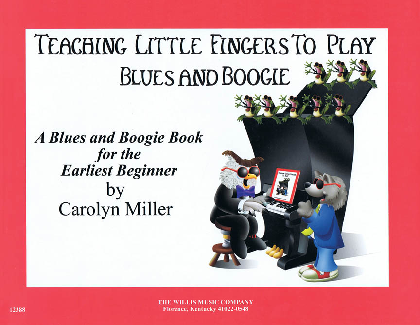 Product Cover for Teaching Little Fingers to Play Blues and Boogie – Book only