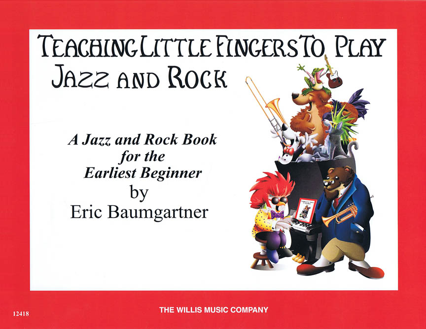 Product Cover for Teaching Little Fingers to Play Jazz and Rock – Book only