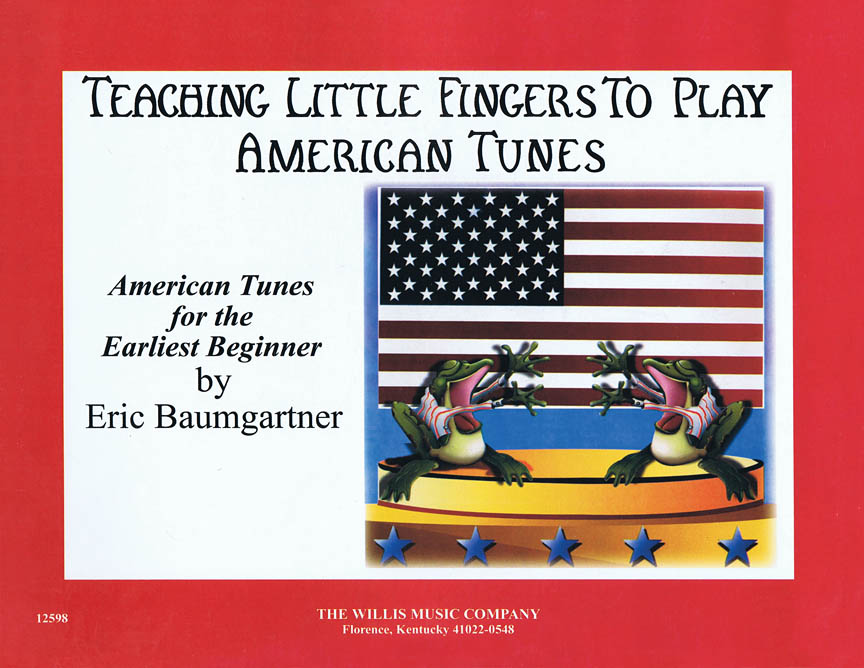 Product Cover for Teaching Little Fingers to Play American Tunes – Book only